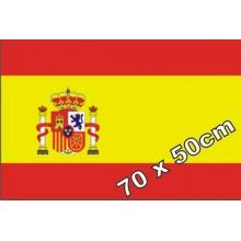 Bandera de España raso 70x50cm