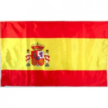 Bandera España raso 150x90cm.