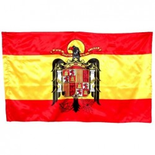 Bandera España Aguila San Juan. 150x90cm.
