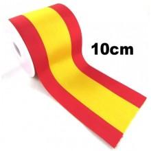 Cinta bandera España ancho 10cm
