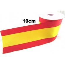 1 metro cinta 10cm bandera España