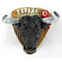 Pulsera cinta bandera España 10mm. Modelo 117