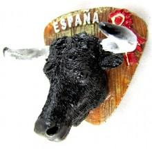 Imán cabeza toro. Modelo 126