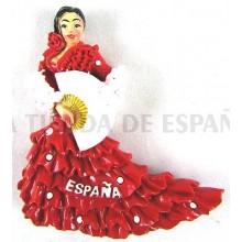Cinta 24mm bandera España. Rollo 25m