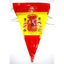 Guirnalda 10m banderas España