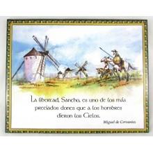 Azulejo decorado Don Quijote