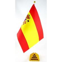 Bandera España sobremesa.