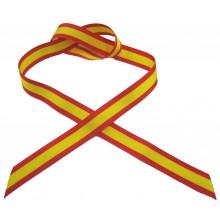 Cinta coche 15mm Bandera España.