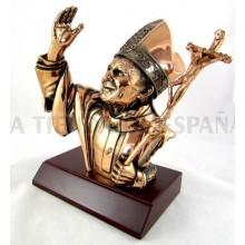 Busto Papa Juan Pablo II
