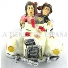 Figura cómic coche flamencos