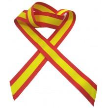 Cinta coche 25mm Bandera España