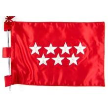 Bandera sobremesa Comunidad de Madrid bordada