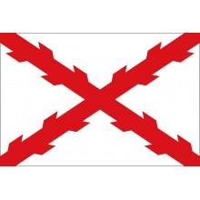 Bandera Cruz de Borgoña 150x90cm