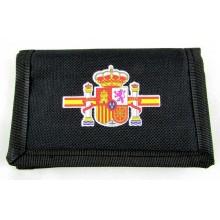 Bolso piel bandera España. Modelo 55