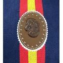 Bolso bandera España fucsia. Modelo 521