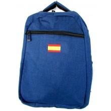 Mochila bandera España. Modelo 5232 azul