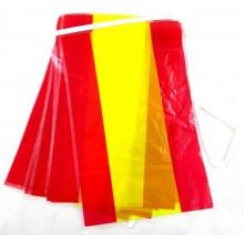 Guirnalda 4,5m banderas España plástico