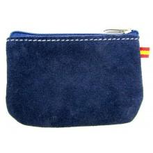 Monedero azul marino bandera España. Modelo 503