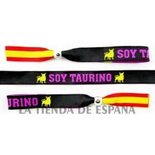 Pulsera SOY TAURINA Bandera España