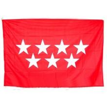 Bandera Comunidad de Madrid oficial para exterior 150x100cm