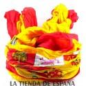Mochila bandera España. Modelo 5232 negro