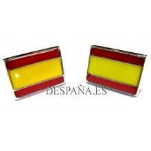 Gemelos bandera España. Modelo 01