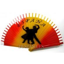 Abanico España Toro y Flamenco