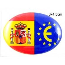 Gorra bandera España blanca. Modelo 51