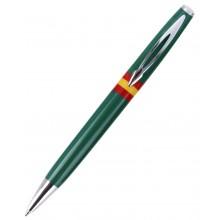 Bolígrafo bandera España. Moldelo 08 verde