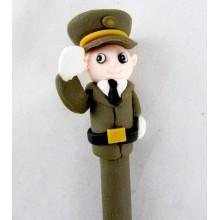 Bolígrafo muñeco Militar.