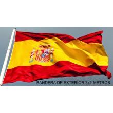 Bandera España gigante exterior. 3x2 metros.