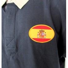 Monedero Caballo bandera España. Modelo 20