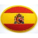 Cinturón bandera España. Verde. Modelo 36