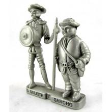 Figura Don Quijote y Sancho Panza