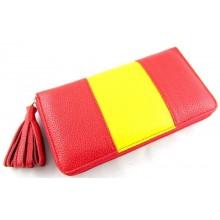 Cartera piel bandera España. Modelo 193