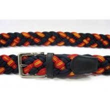 6 Cinturones bandera España. Marino. Modelo 50