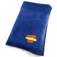 Toalla bandera España azul marino 150x75cm