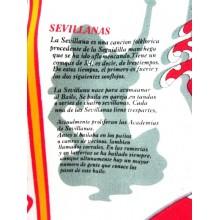 Delantal España Sevillanas. Modelo 32