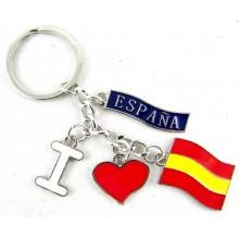 Llavero I love España. Modelo 599