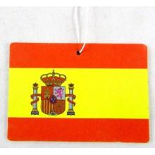 Ambientador coche bandera España