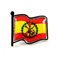 Tubo 25 pulseras bandera España. Modelo 25-27