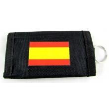 Llavero monedero Bandera España. Modelo 601