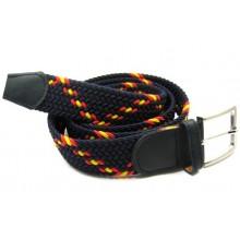 6 Cinturones elásticos bandera marino. Modelo 70