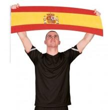 Bandera España animación 80x30cm