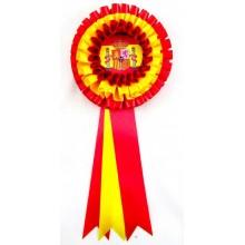 Escarapela trofeo bandera España grande