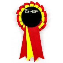 Escarapela trofeo bandera España pequeña