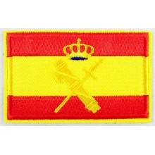 Parche bandera España Guardia Civil. Modelo 41