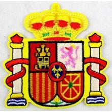 Parche bordado Escudo España. Modelo 40