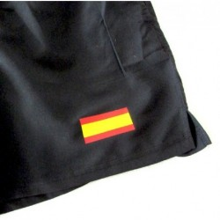 Bañador bandera España negro