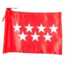 Bandera Comunidad de Madrid sobremesa 30x20cm